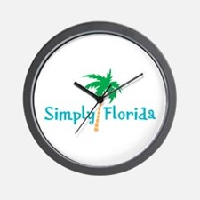 Simply Florida Wall Clock