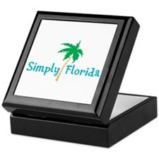 Simply Florida Keepsake Box