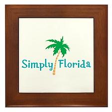 Simply Florida Framed Tile