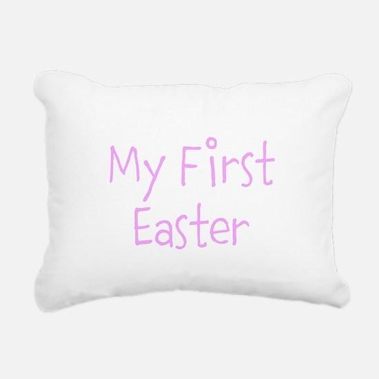 My First Easter Rectangular Canvas Pillow