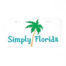 Simply Florida Aluminum License Plate