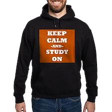 Keep Calm and Study On Hoodie