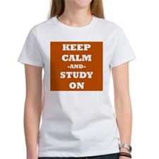 Keep Calm and Study On T-Shirt