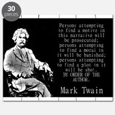 Persons Attempting To Find A Motive - Twain Puzzle