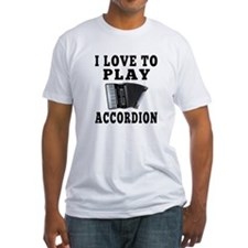 I Love Accordion Shirt