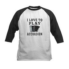 I Love Accordion Tee
