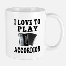 I Love Accordion Mug
