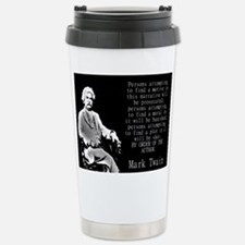 Persons Attempting To Find A Motive - Twain Mugs