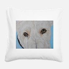 Scottie Wheaten pretty eyes Square Canvas Pillow