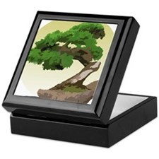 Bonsai Zen tree Keepsake Box