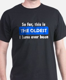 The Oldest T-Shirt
