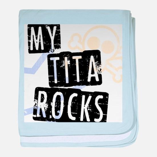 TitaRocks baby blanket