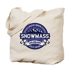 Snowmass Midnight Tote Bag