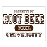 Root Beer University Small Poster