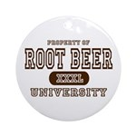 Root Beer University Ornament (Round)