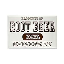 Root Beer University Rectangle Magnet