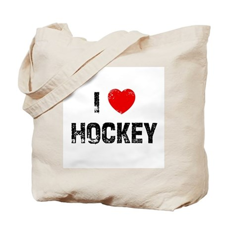 I * Hockey Tote Bag