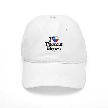 I Love Texas Boys Cap