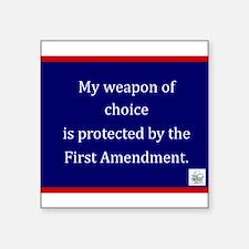 Ist Amendment Protection Sticker