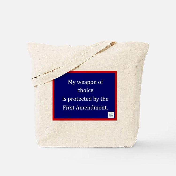 Ist Amendment Protection Tote Bag