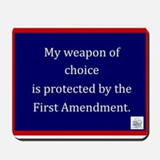 Ist Amendment Protection Mousepad