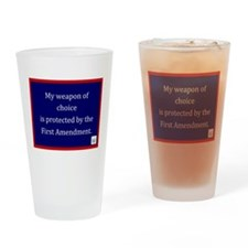 Ist Amendment Protection Drinking Glass