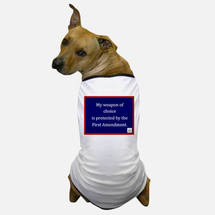 Ist Amendment Protection Dog T-Shirt