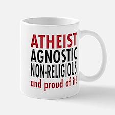 Atheist, and proud of it! Mug