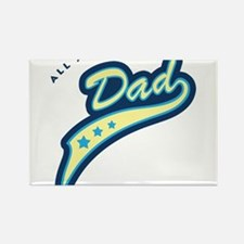 All American Dad Rectangle Magnet