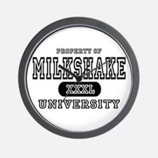 Milkshake University Wall Clock