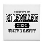 Milkshake University Tile Coaster