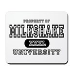 Milkshake University Mousepad