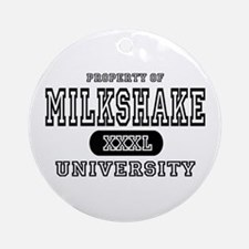 Milkshake University Ornament (Round)