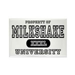 Milkshake University Rectangle Magnet