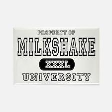 Milkshake University Rectangle Magnet