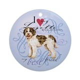 Lagotto romagnolo Round Ornaments