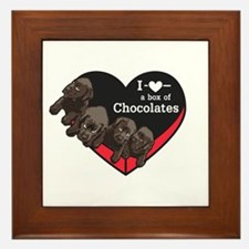 Box of Chocolates Framed Tile