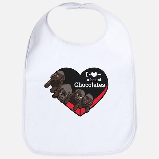 Box of Chocolates Bib