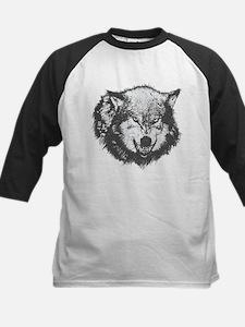 Angry Wolf Baseball Jersey