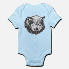 Angry Wolf Body Suit
