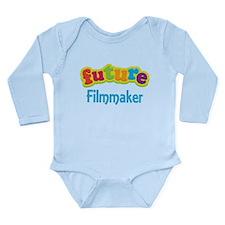 Future Filmmaker Long Sleeve Infant Bodysuit