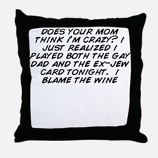 Unique Gay dad Throw Pillow