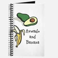 avocado and banana month Journal