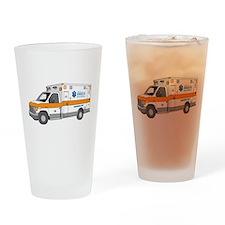 Ambulance Drinking Glass