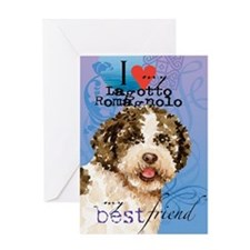 Lagotto Romagnolo Greeting Card