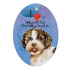 Lagotto Romagnolo Ornament (Oval)