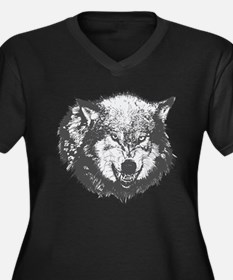 Wolf Plus Size T-Shirt