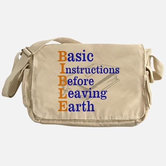 BIBLE Messenger Bag