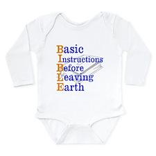 BIBLE Long Sleeve Infant Bodysuit