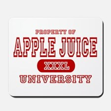 Apple Juice University Mousepad